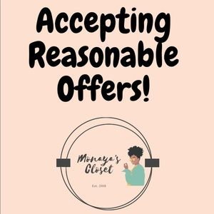 Accepting Reasonable Offers ✨
